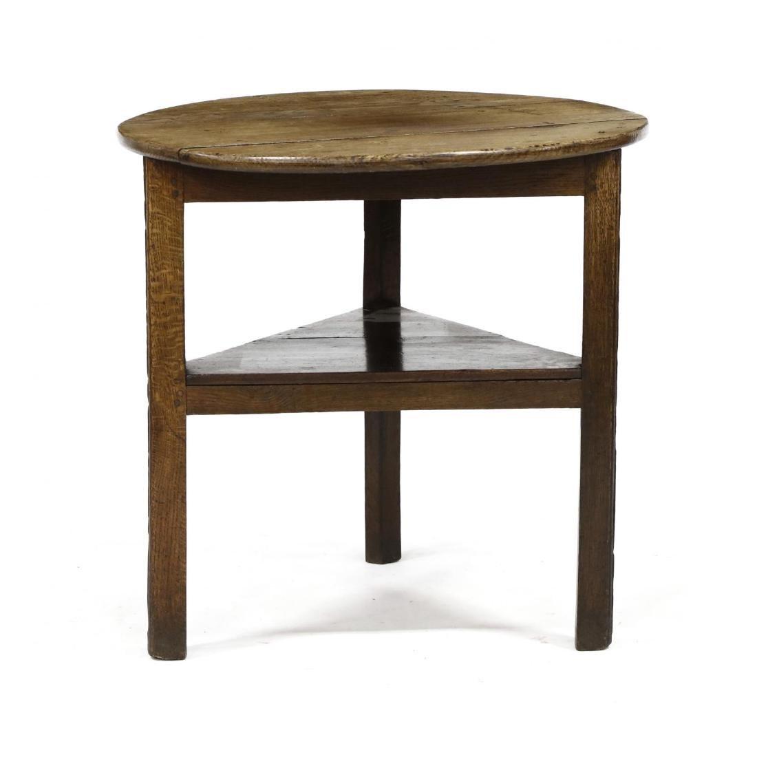 Antique English Cricket Table - 3