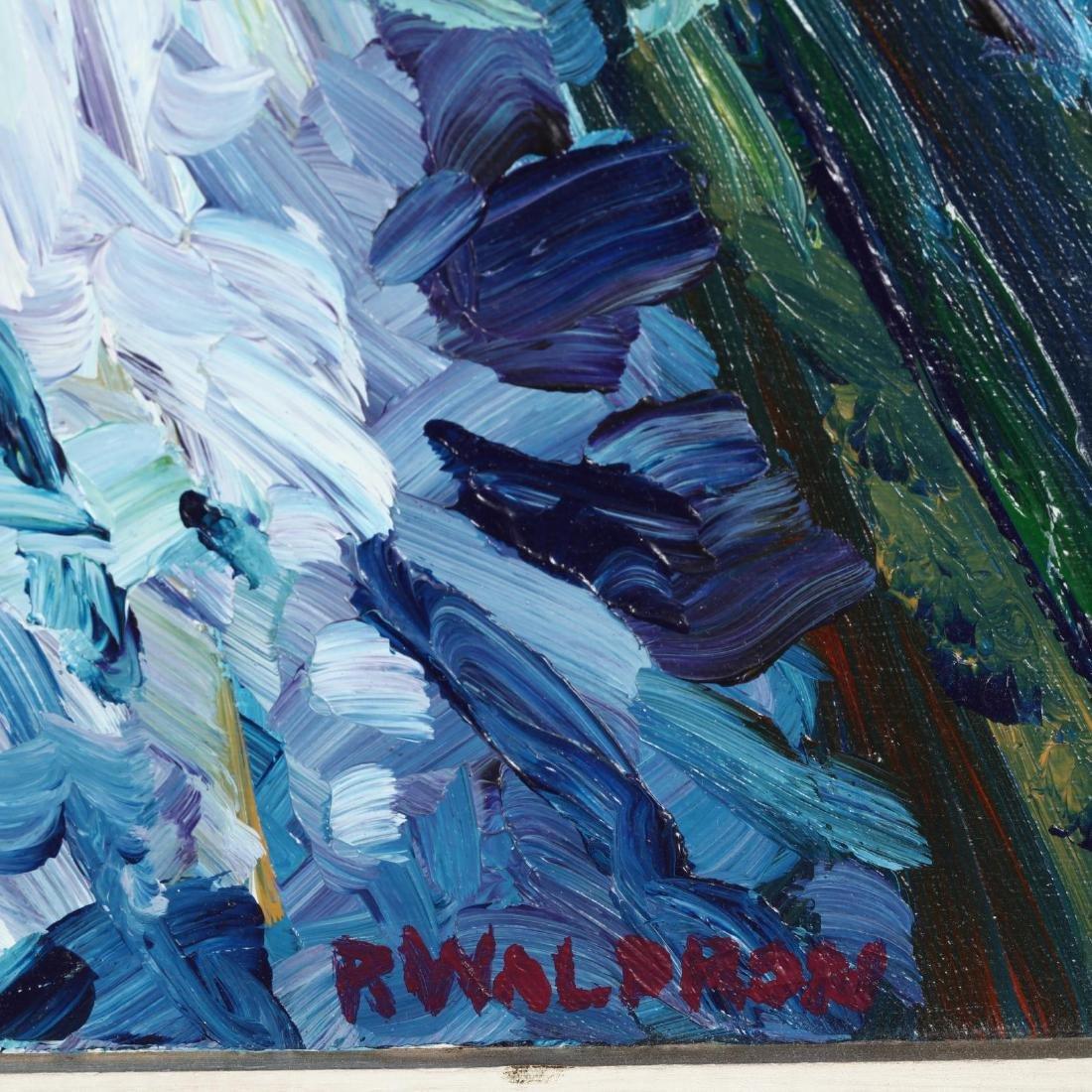 R. Waldron (American), A Winter Street Scene - 2