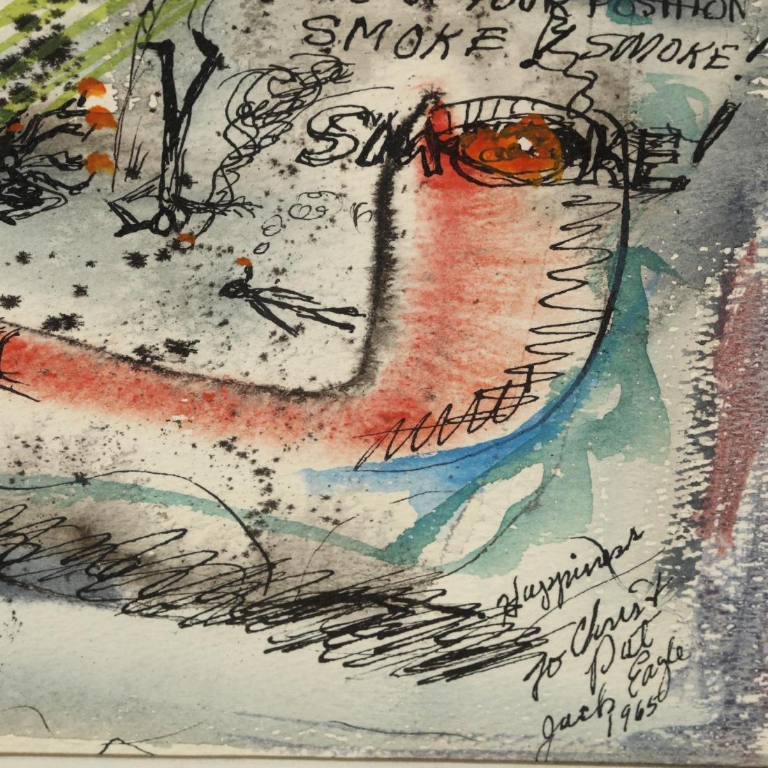 Jack Eagle (PA, 1930-2009), Smoke! - 2