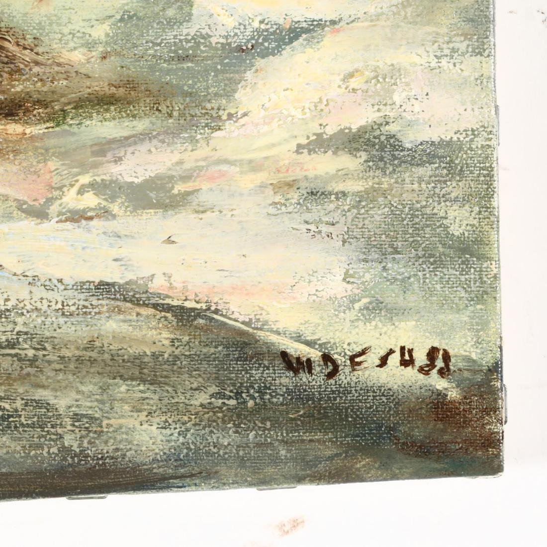 Waltraut Desa (NC, 20th Century), Two Oil Paintings - 4