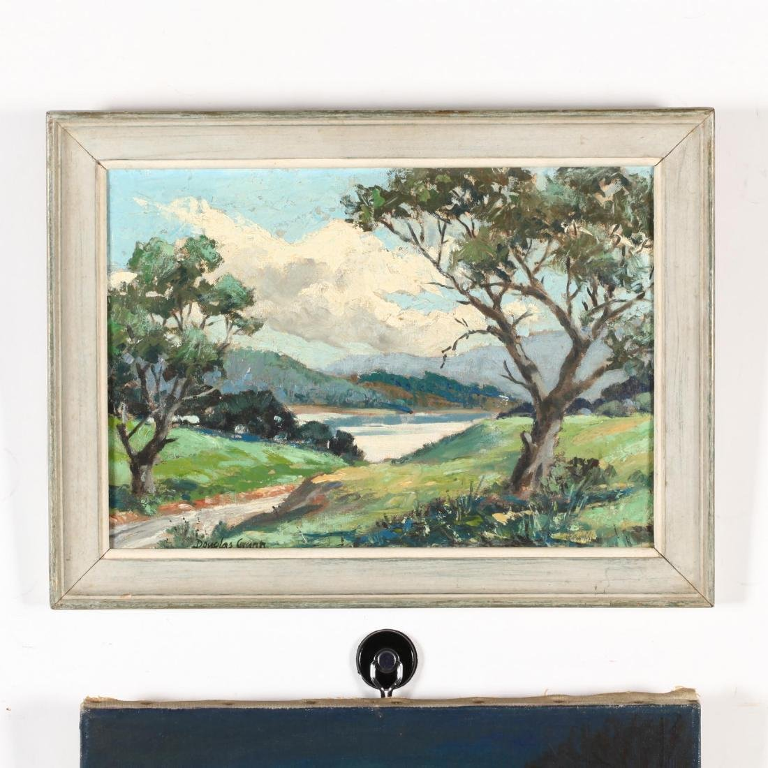 American School (20th C), Two Small Oil Landscapes - 3