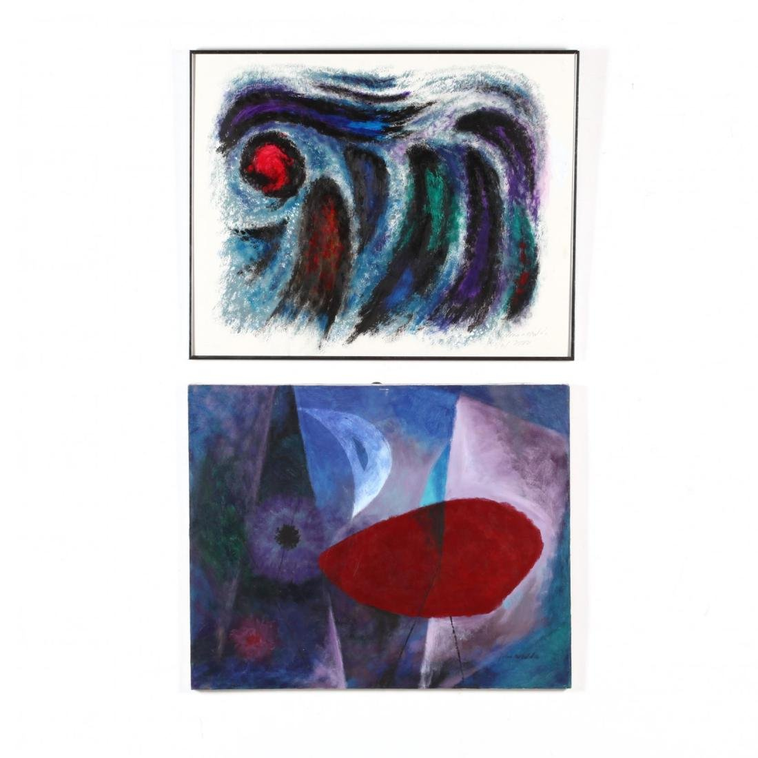 Two Abstract Expressionist Compositions