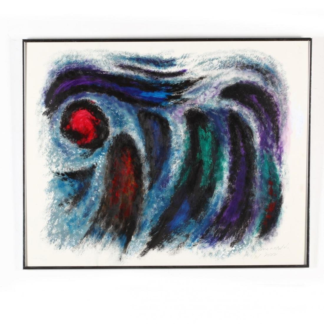 Two Abstract Expressionist Compositions - 2