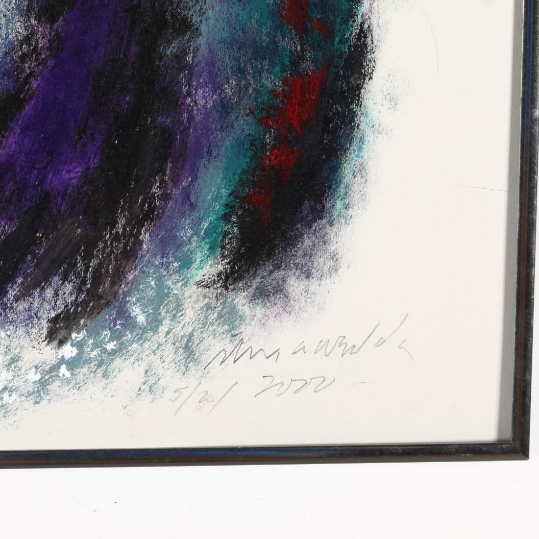 Two Abstract Expressionist Compositions - 4