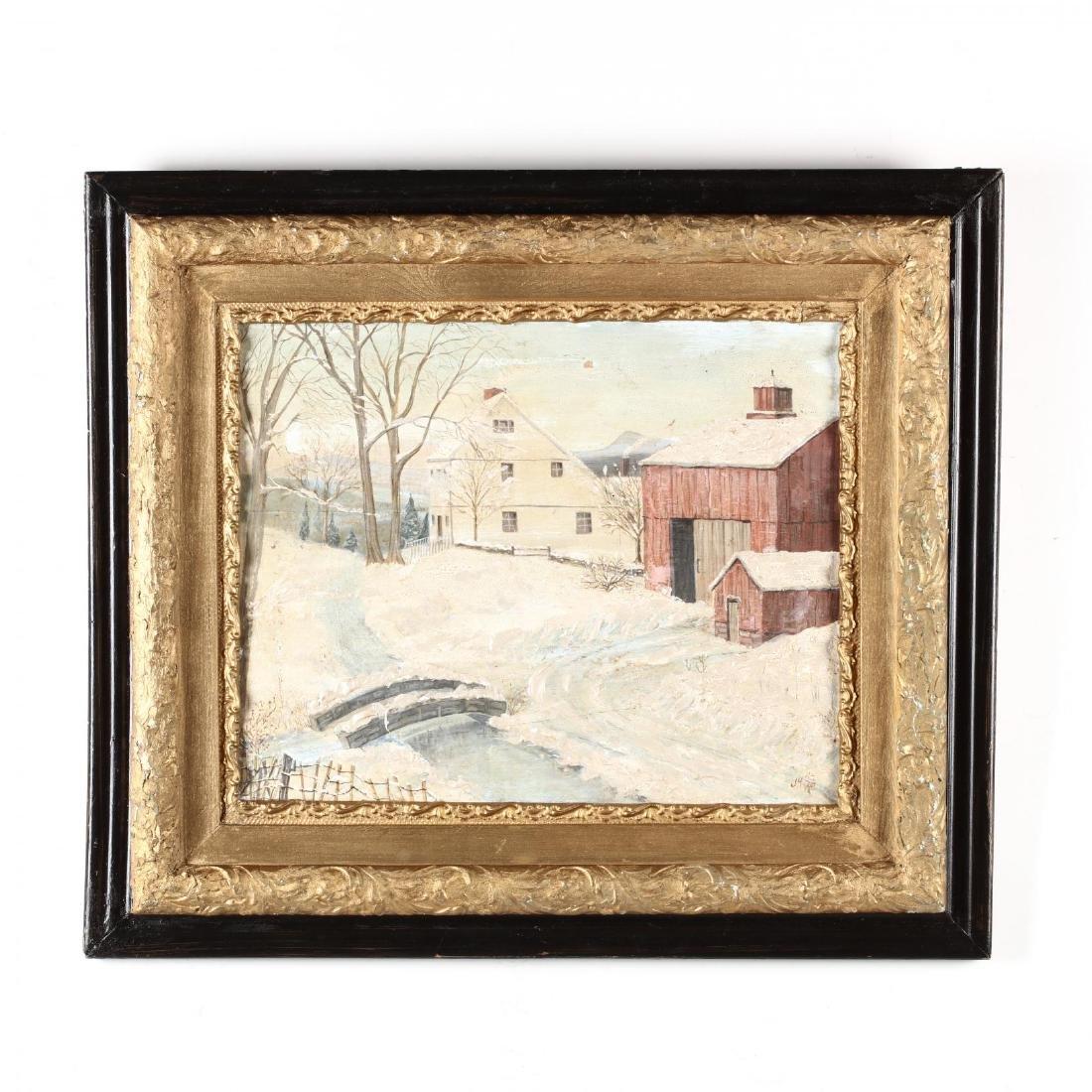 A Folky Winter Scene
