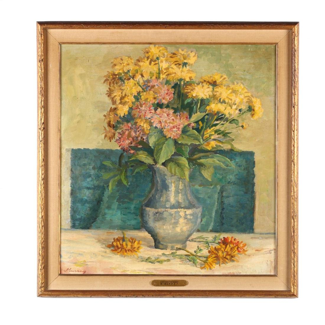 M. Murray (NY, 20th Century),  Chrysanthemums