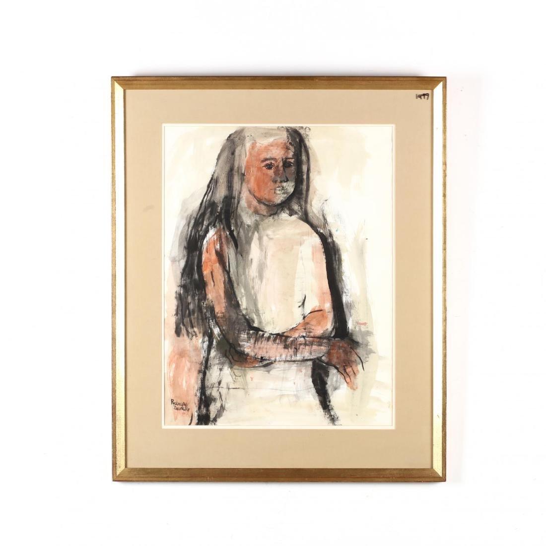 Rosemary Zwick (IL, 1925-1995), Three-Quarter Length