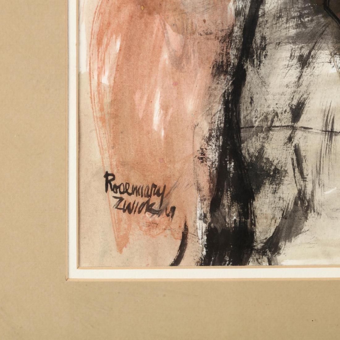 Rosemary Zwick (IL, 1925-1995), Three-Quarter Length - 2