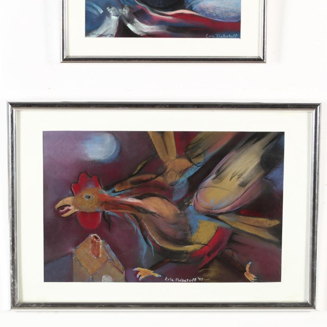 Eric Nabatoff (NC), Four Works on Paper - 4