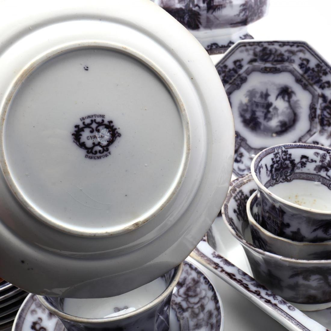 A Set of Davenport Ironstone Tableware,  Cyprus - 10