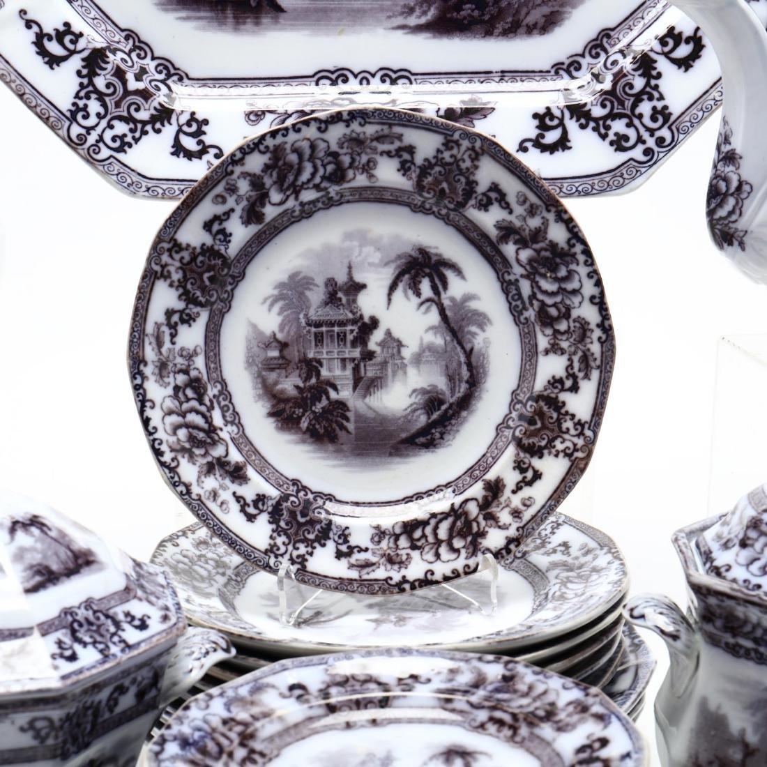 A Set of Davenport Ironstone Tableware,  Cyprus - 2