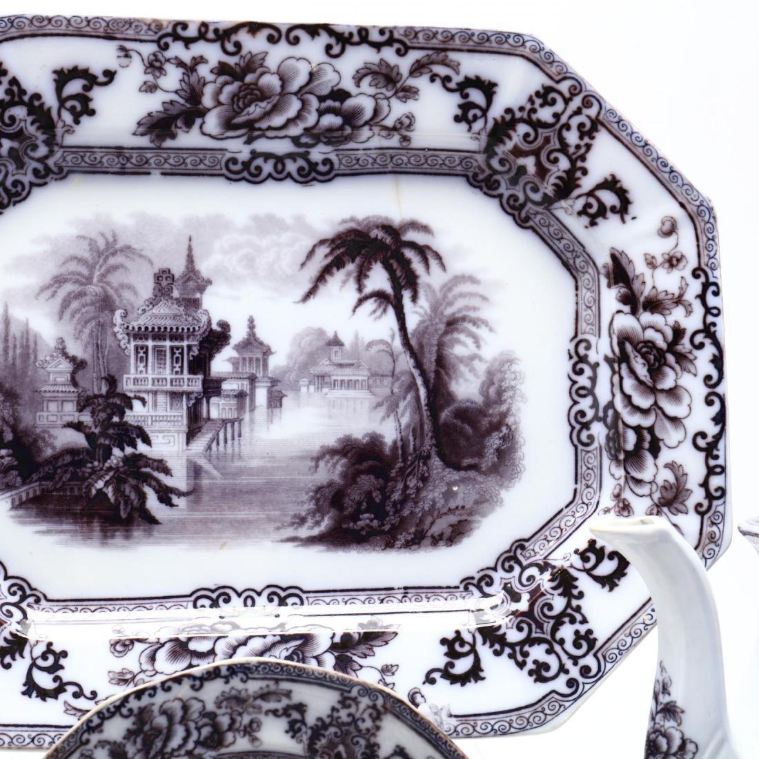 A Set of Davenport Ironstone Tableware,  Cyprus - 3
