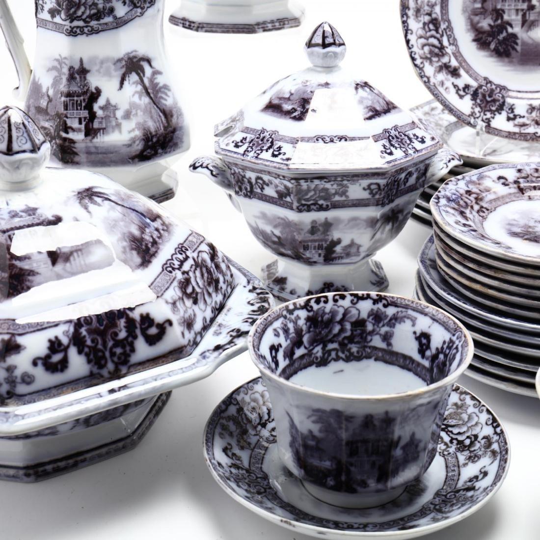 A Set of Davenport Ironstone Tableware,  Cyprus - 4