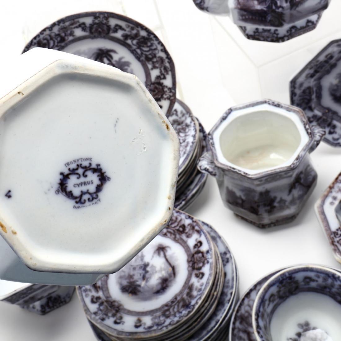 A Set of Davenport Ironstone Tableware,  Cyprus - 8