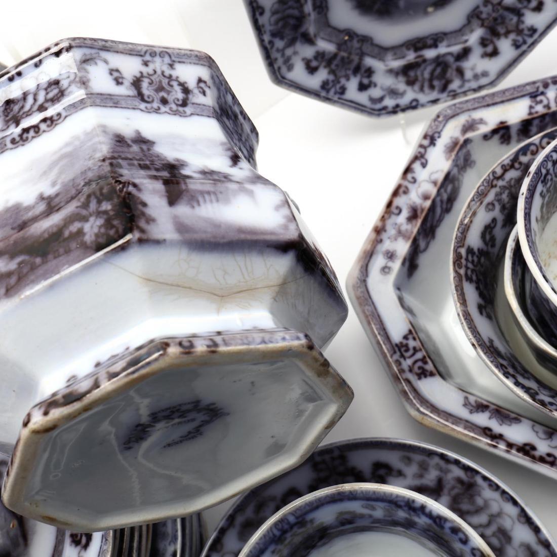 A Set of Davenport Ironstone Tableware,  Cyprus - 9