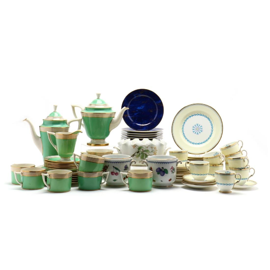 An Assortment of China Tableware