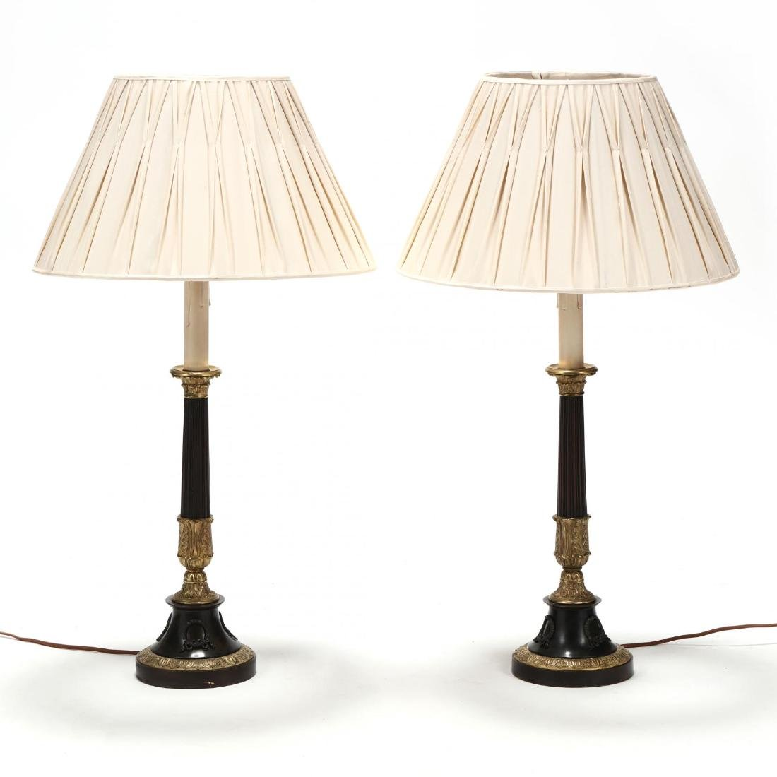 Pair of Neoclassical Style Table Lamps