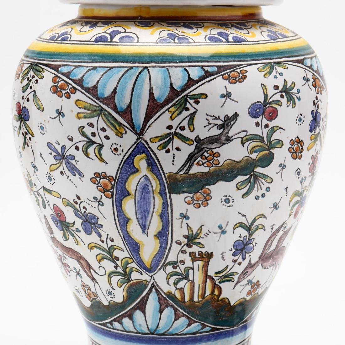 Italian Pottery Table Lamp - 4