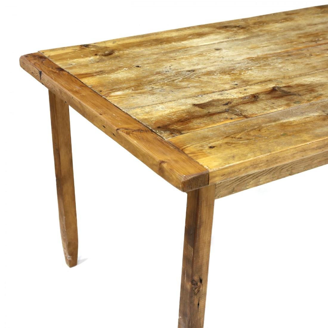 Vintage Pine Harvest Table - 2