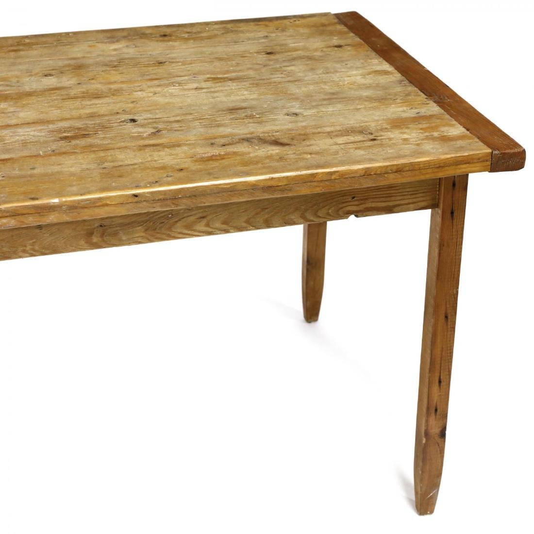 Vintage Pine Harvest Table - 4