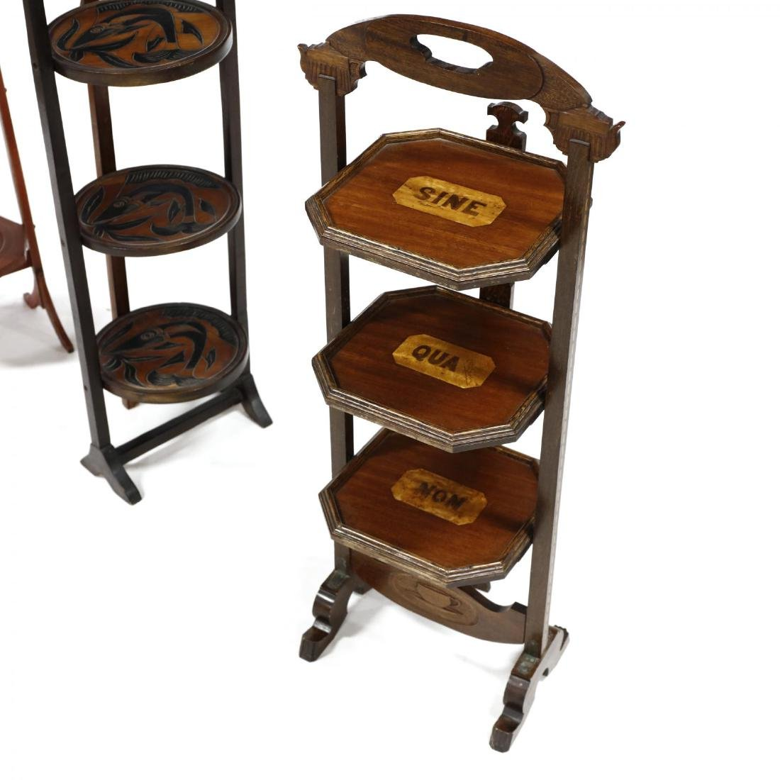Four Vintage Muffin Stands - 2