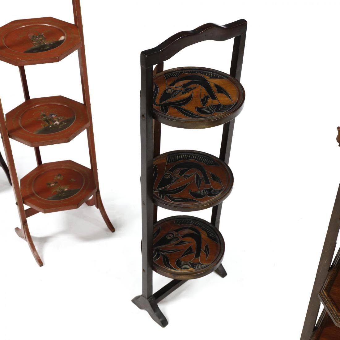 Four Vintage Muffin Stands - 3