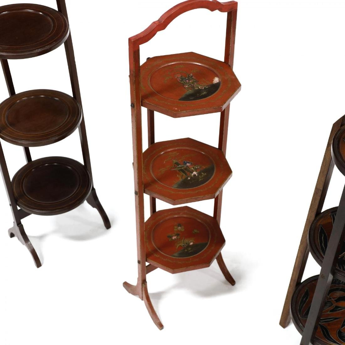 Four Vintage Muffin Stands - 4