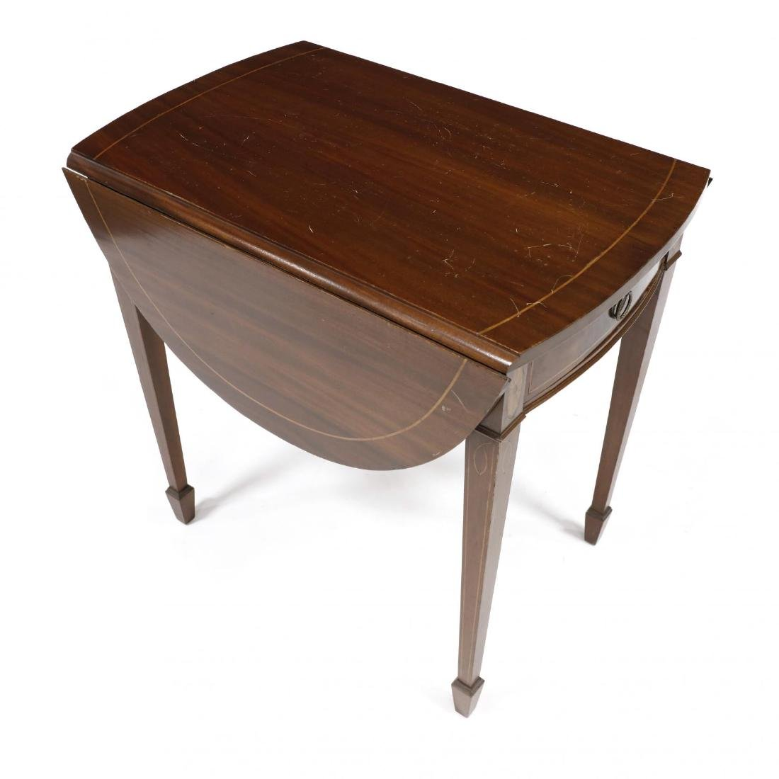 Federal Style Inlaid Pembroke Table - 2