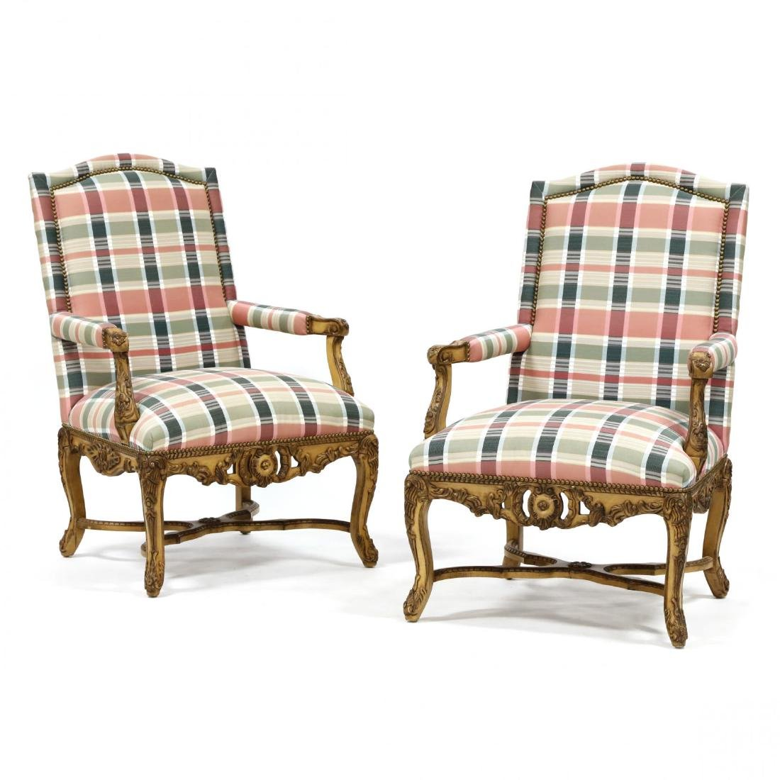 Highland House, Pair of French Provincial Oversized