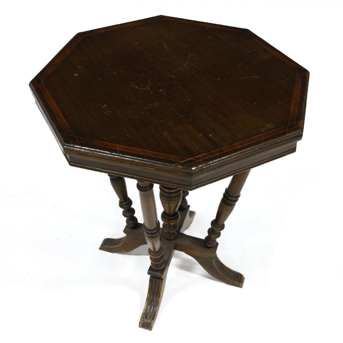Vintage Walnut Parlor Table - 2
