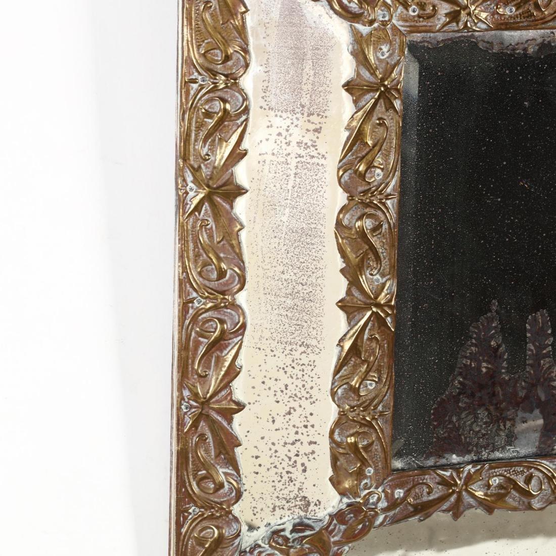 An Antique Continental Art Nouveau Mirror - 3
