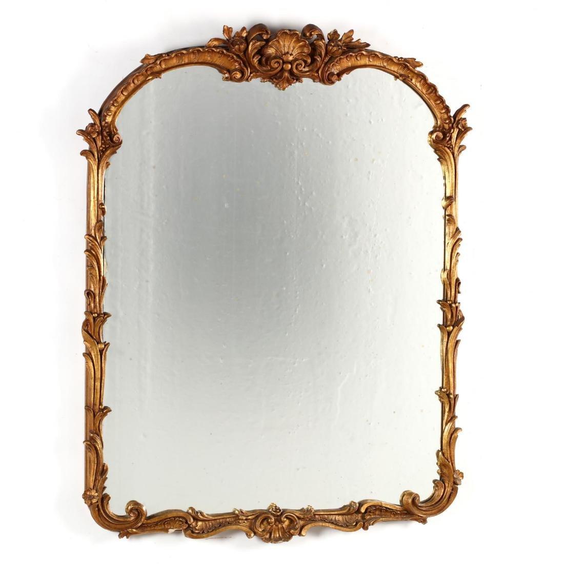 Vintage Italianate Gilt Mirror