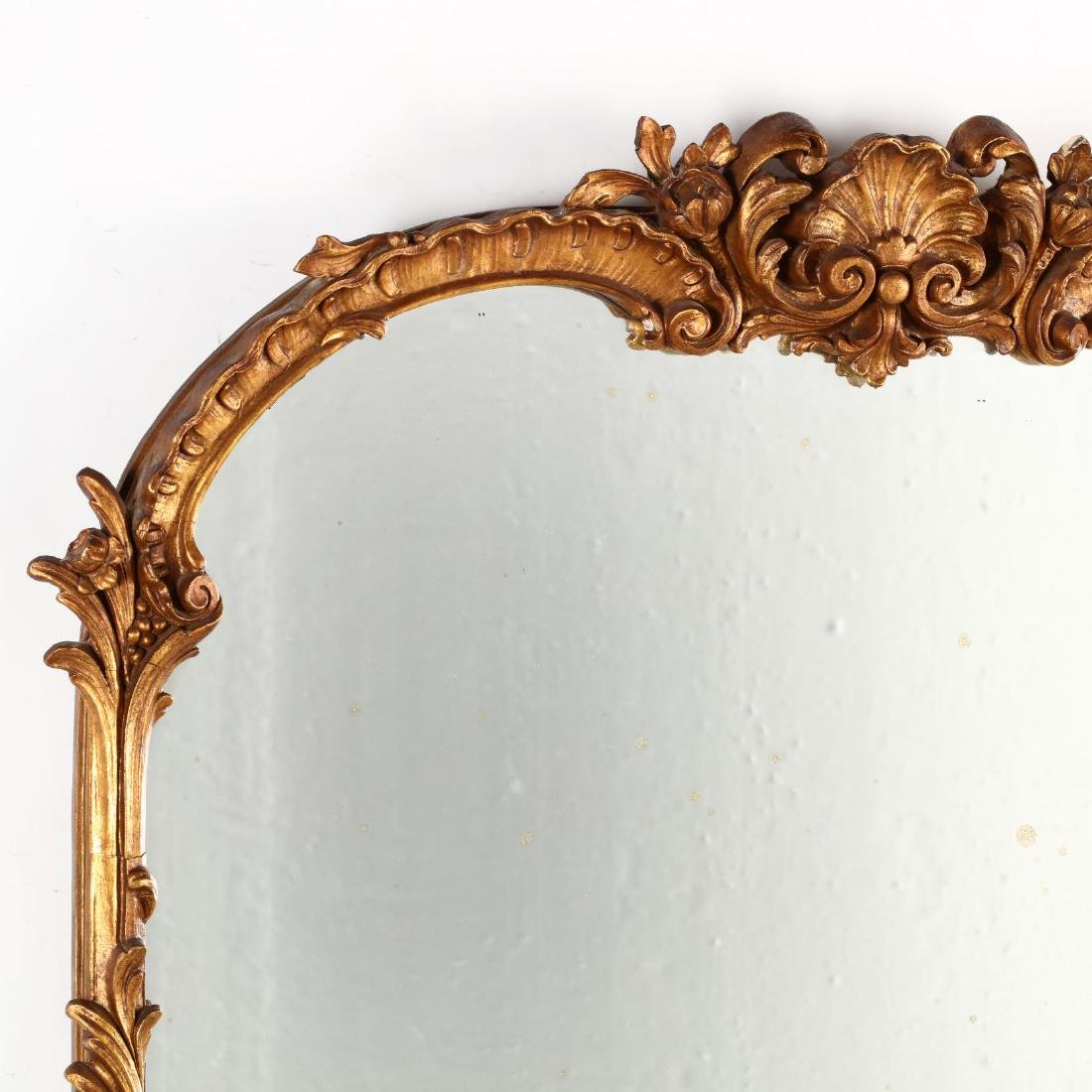Vintage Italianate Gilt Mirror - 2