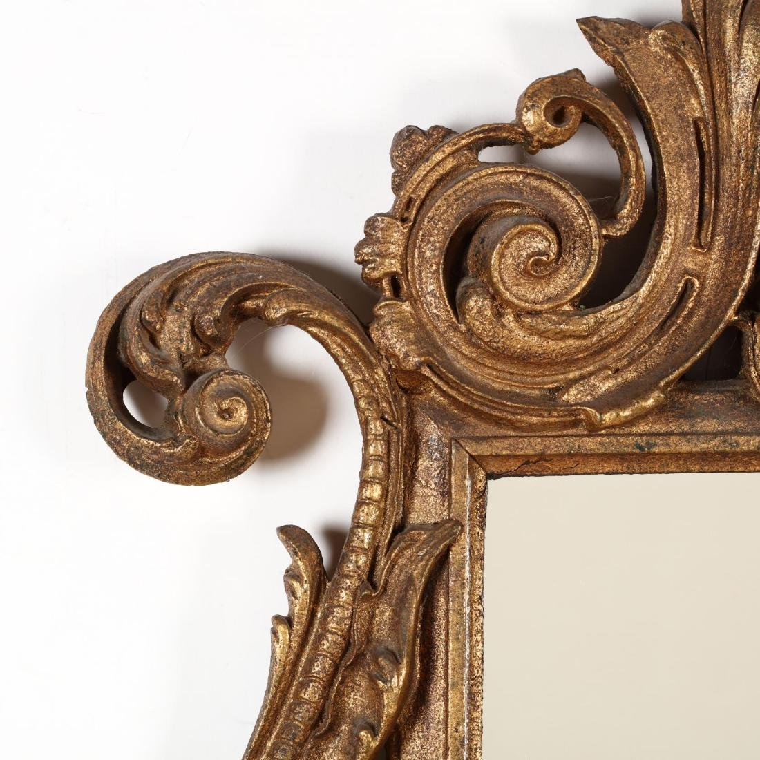 Two Decorative Continental Gilt Mirrors - 2