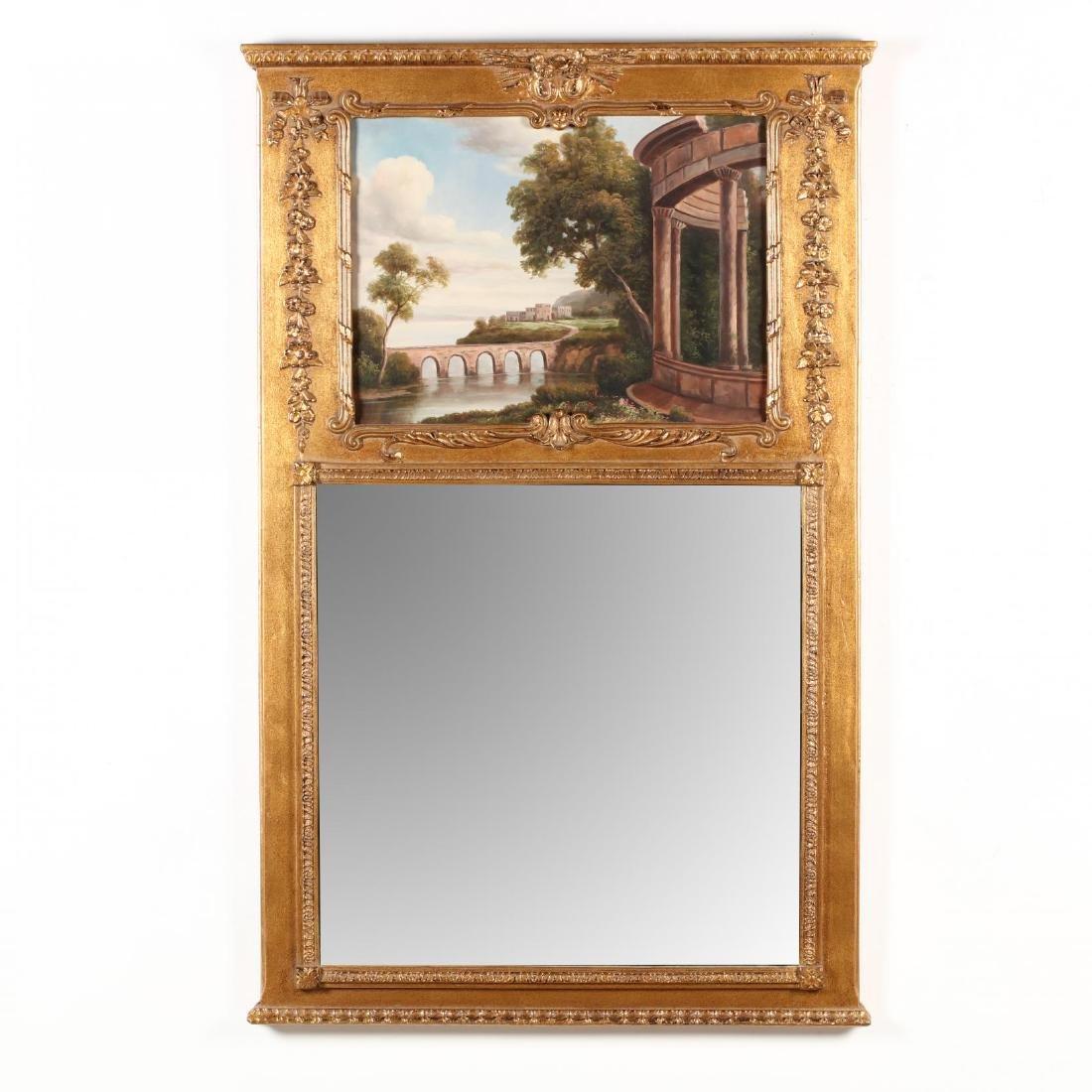 A Contemporary Decorative Trumeau