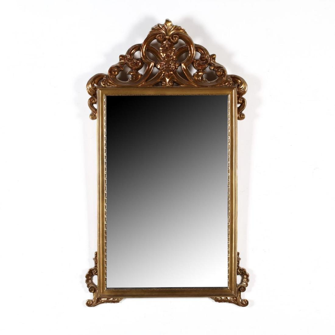 A Vintage Gilt Wall Mirror