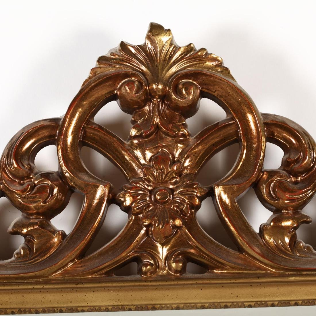 A Vintage Gilt Wall Mirror - 2