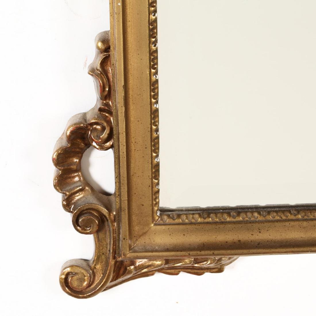 A Vintage Gilt Wall Mirror - 3