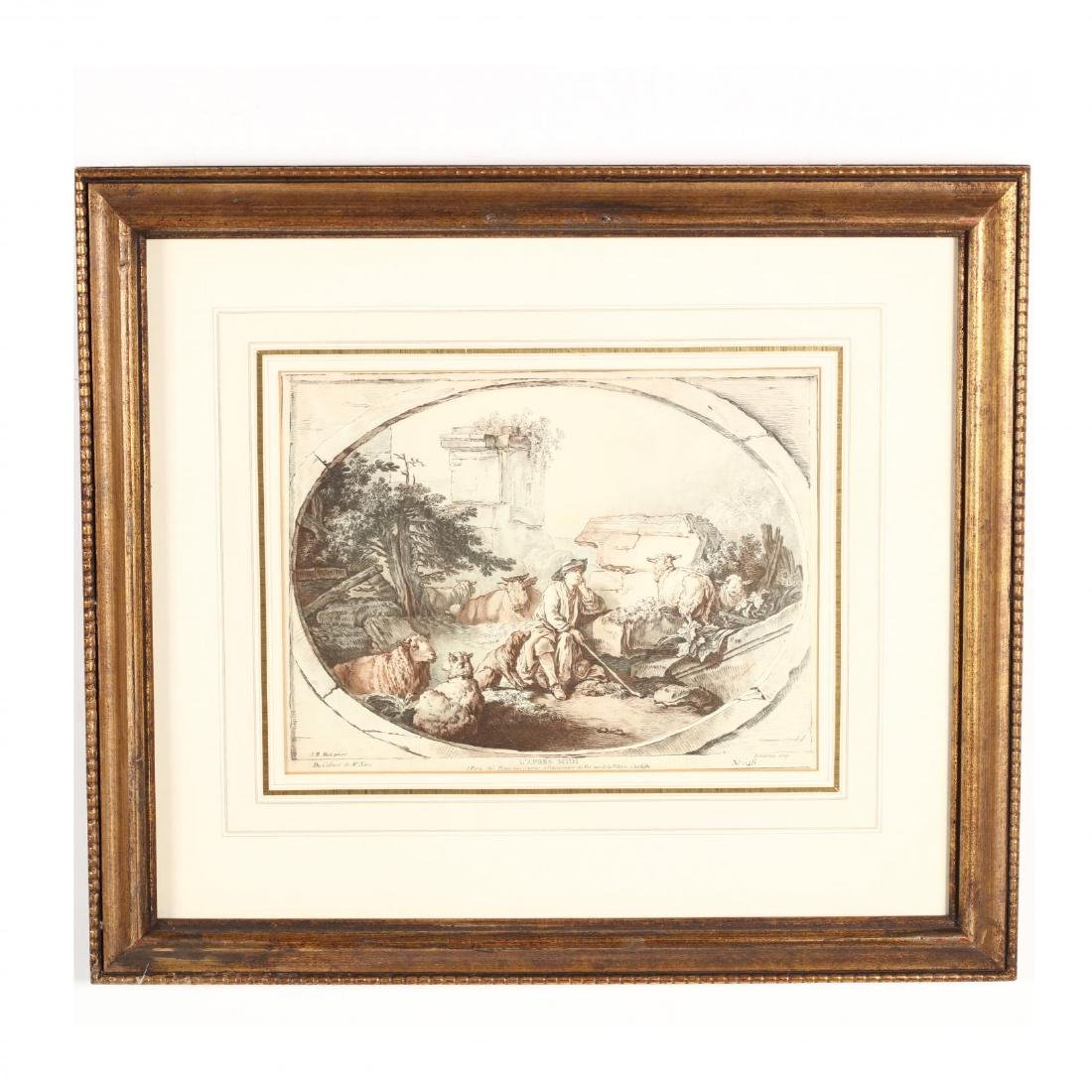 Two Pairs of Framed French Prints - 7