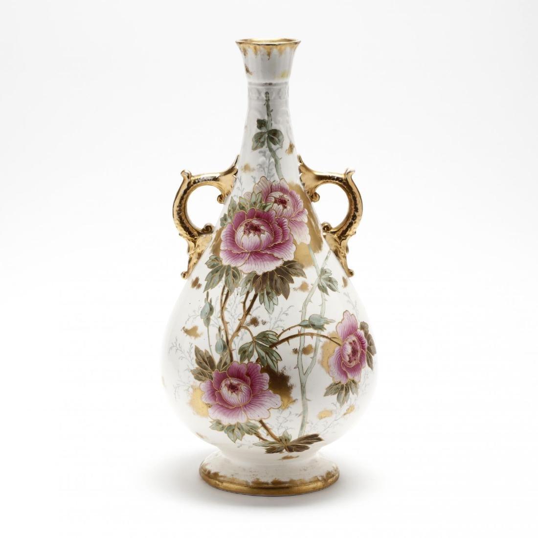 Royal Bonn, Tall Floral Vase