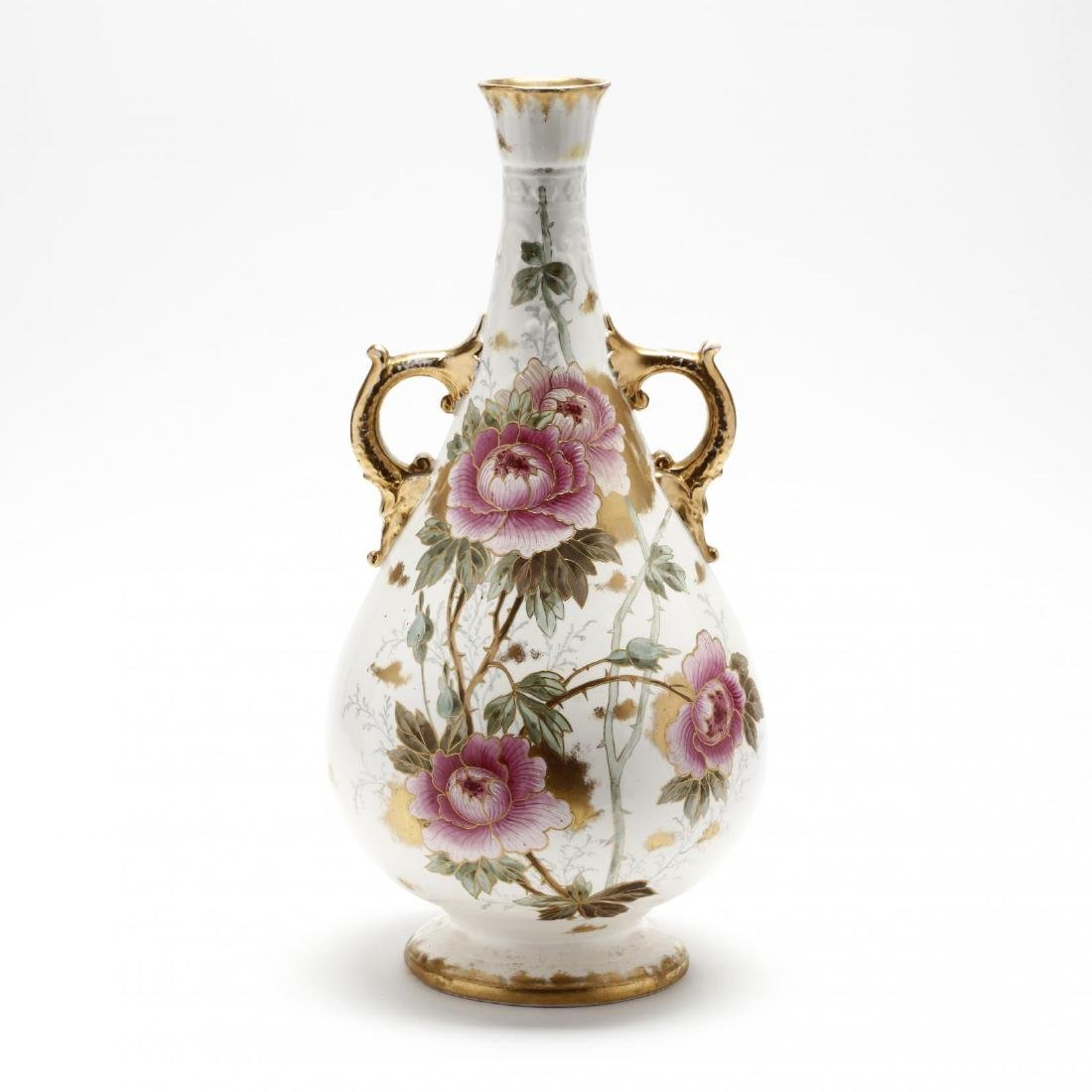 Royal Bonn, Tall Floral Vase