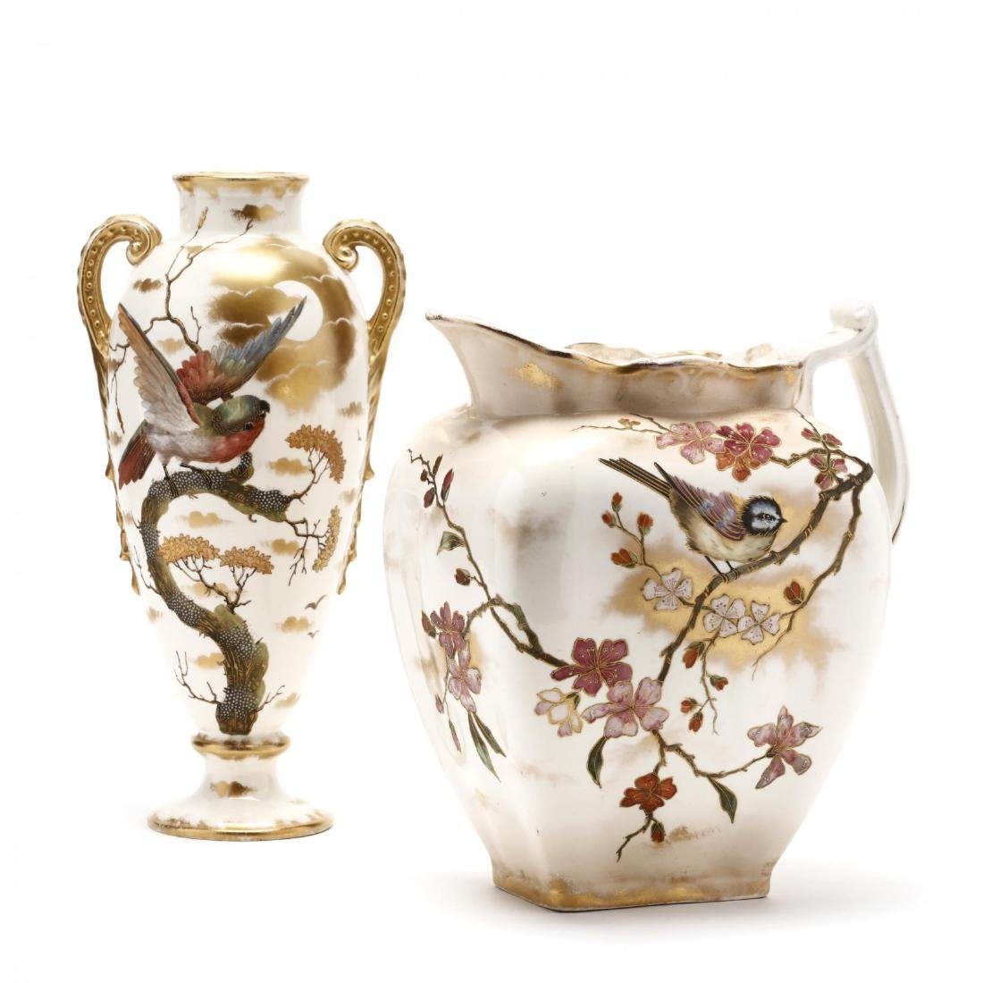 Royal Bonn, Two Porcelain Accessories
