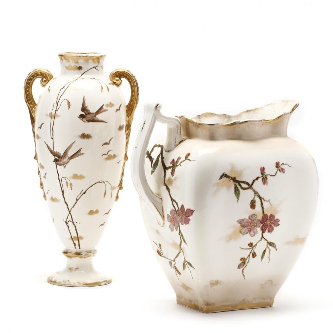 Royal Bonn, Two Porcelain Accessories - 2
