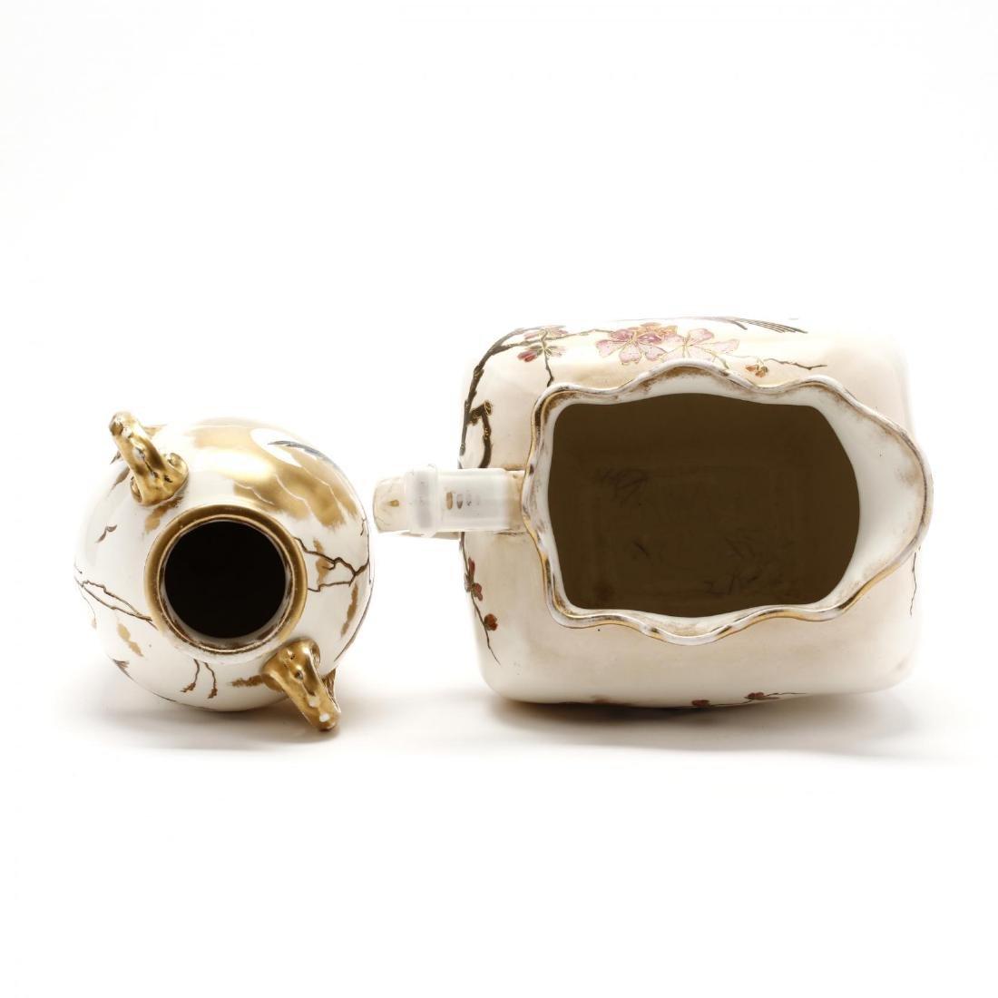Royal Bonn, Two Porcelain Accessories - 3