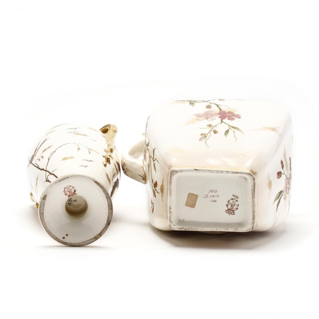 Royal Bonn, Two Porcelain Accessories - 4