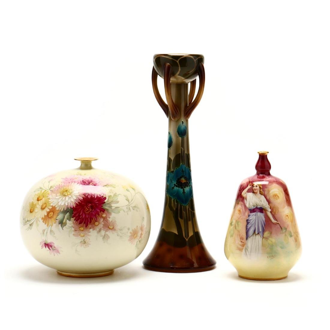 Royal Bonn, Three Porcelain Accessories