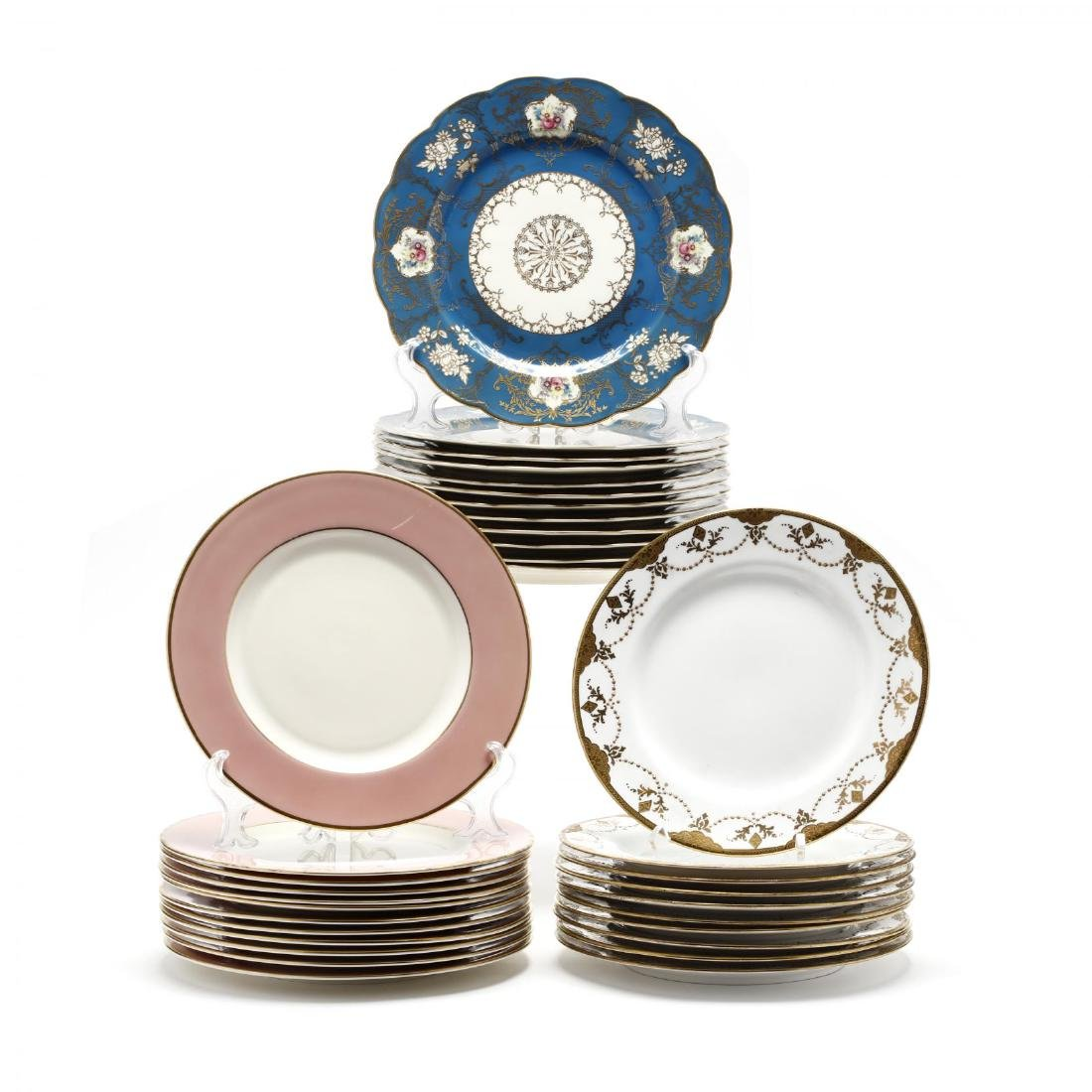 Three Sets of Buffet Plates