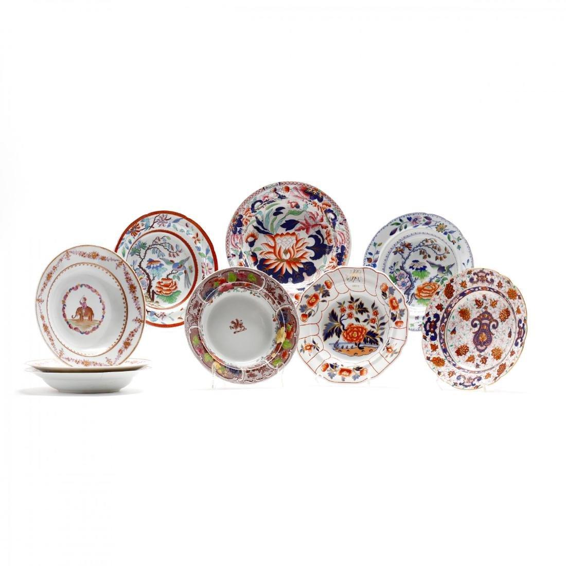 A Collection of Antique Soup Bowls