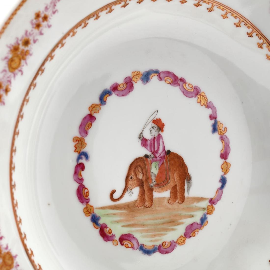 A Collection of Antique Soup Bowls - 3