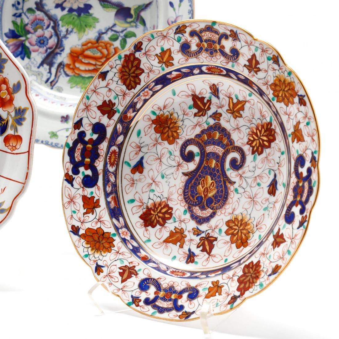 A Collection of Antique Soup Bowls - 7